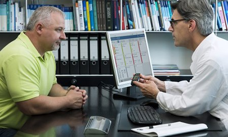 MyStar Connect lets doctors examine data before they see patients