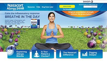 Best Branded Website for HCPs: 2014