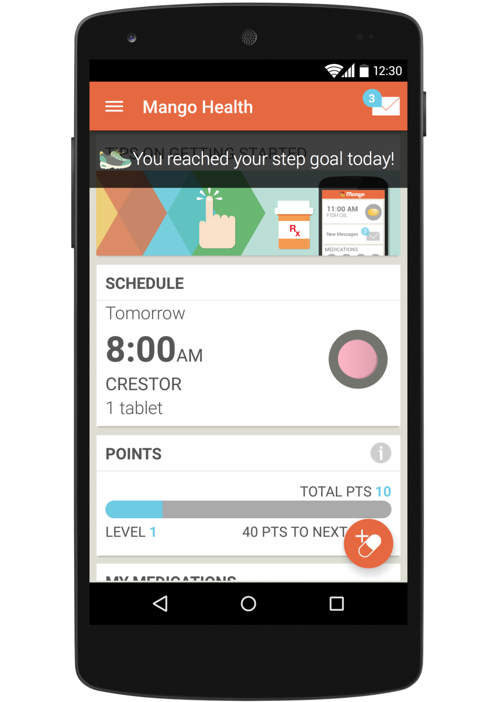 Mango Health said a study shows its app increased medication adherence among hard-to-reach patients