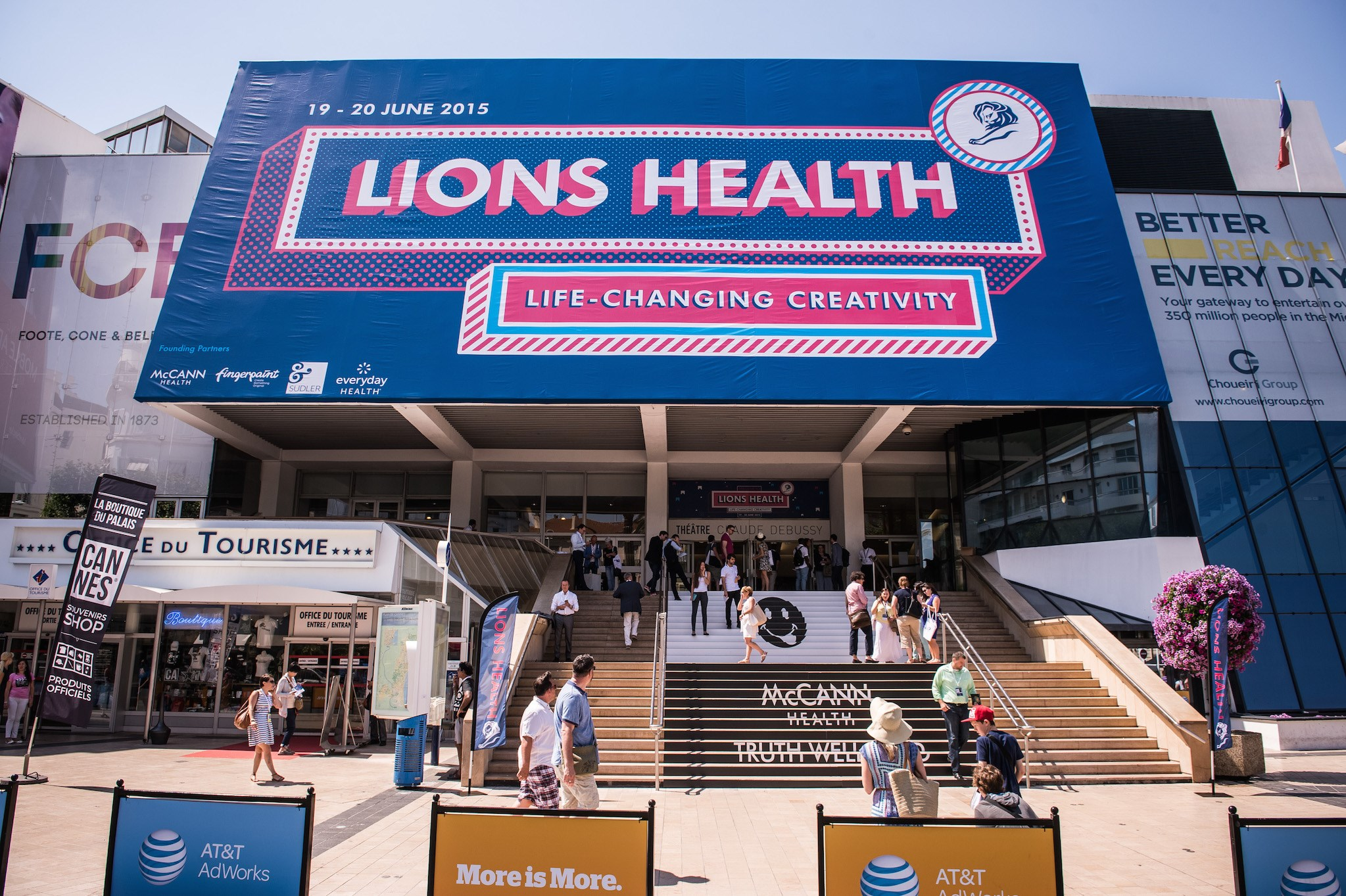The Cannes Lions Health creativity festival came to a close this weekend.