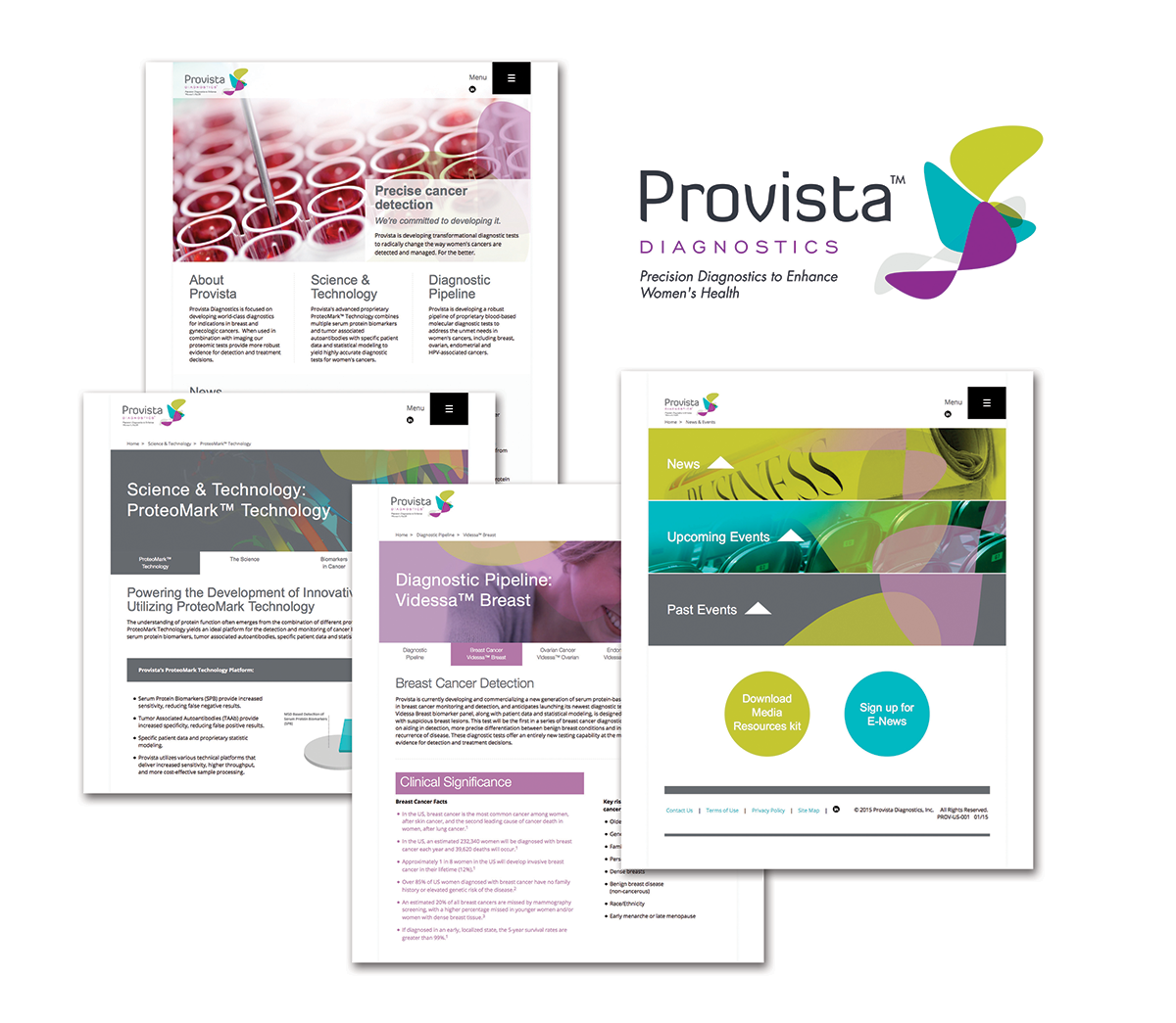 Brandkarma's complete and insightful patient-information packaging for Provista
