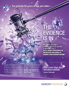 Discovery USA's ad work for Sanofi Pasteur's high-dose influenza vaccine Fluzone