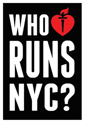 A campaign ad for the American Heart Association's 2015 Wall Street Run & Heart Walk