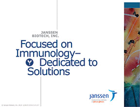 Print and online work for Janssen Biotech