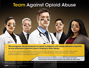 An unbranded campaign for abuse-deterrent opioids for Purdue Pharma