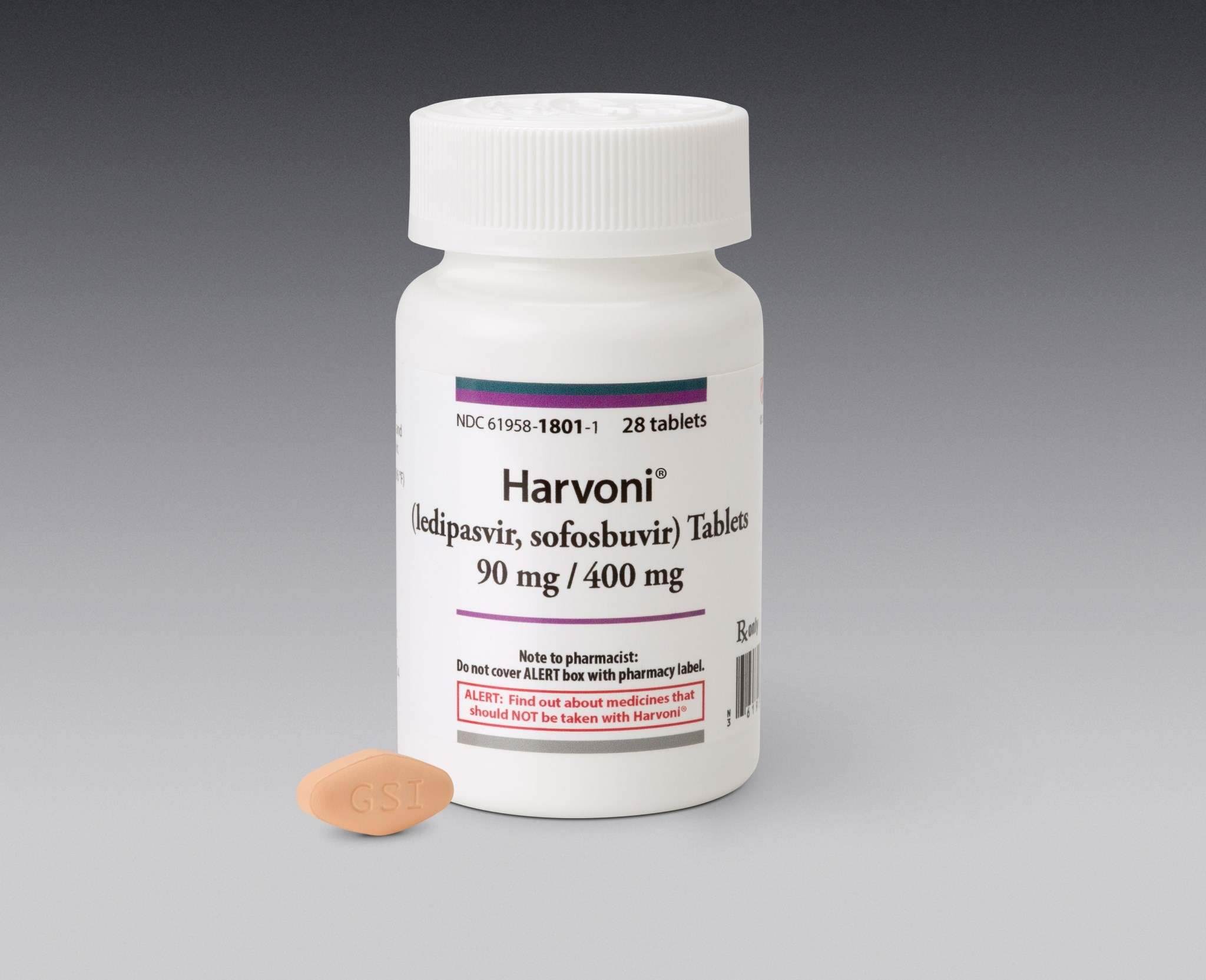 Gilead's hepatitis-C treatment Harvoni