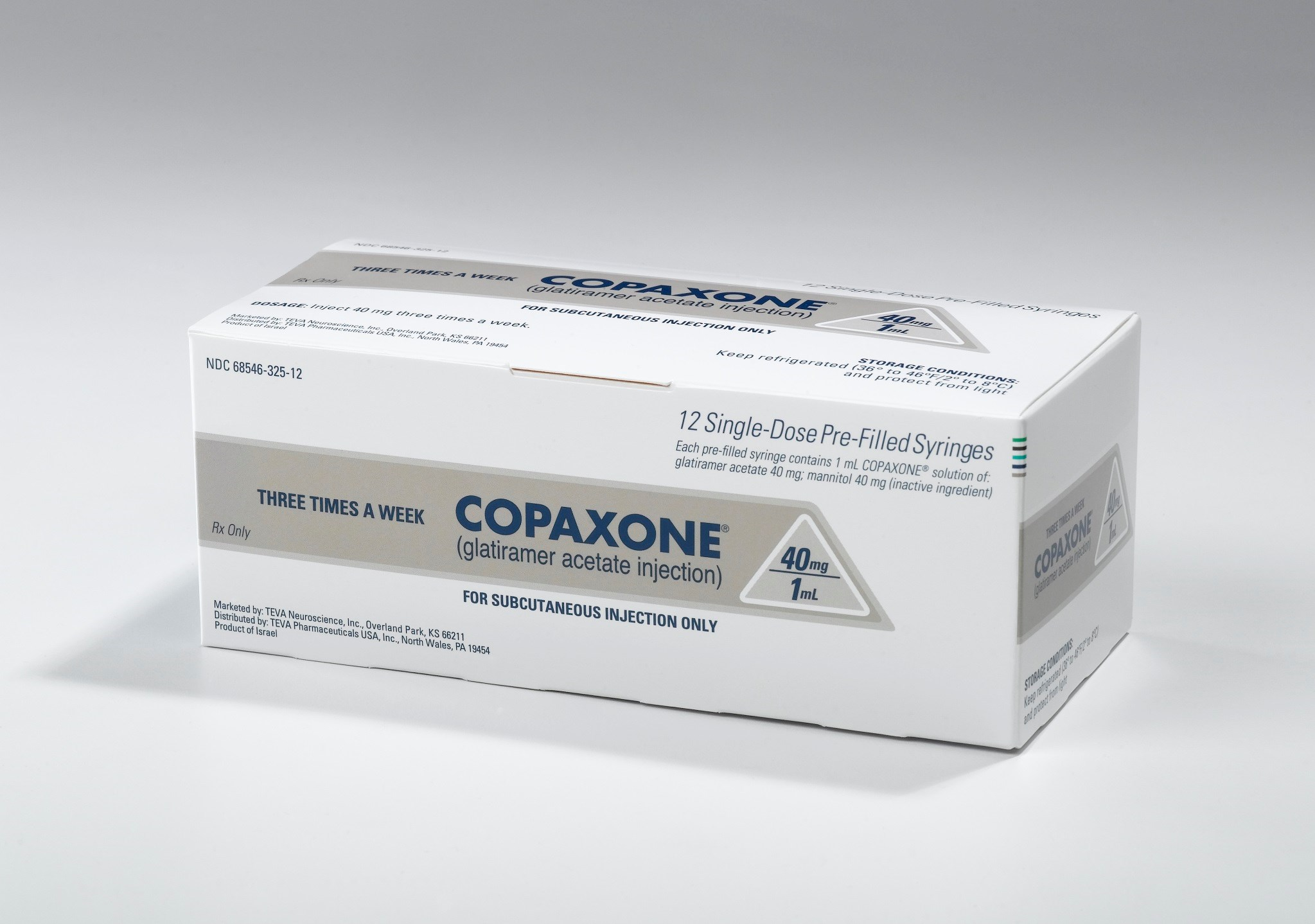 Teva's Copaxone now has generic competition.
