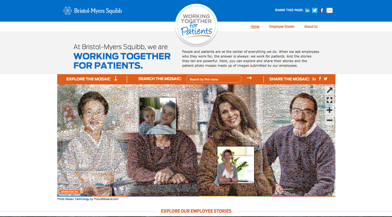 Bristol-Myers Squibb promotes employees