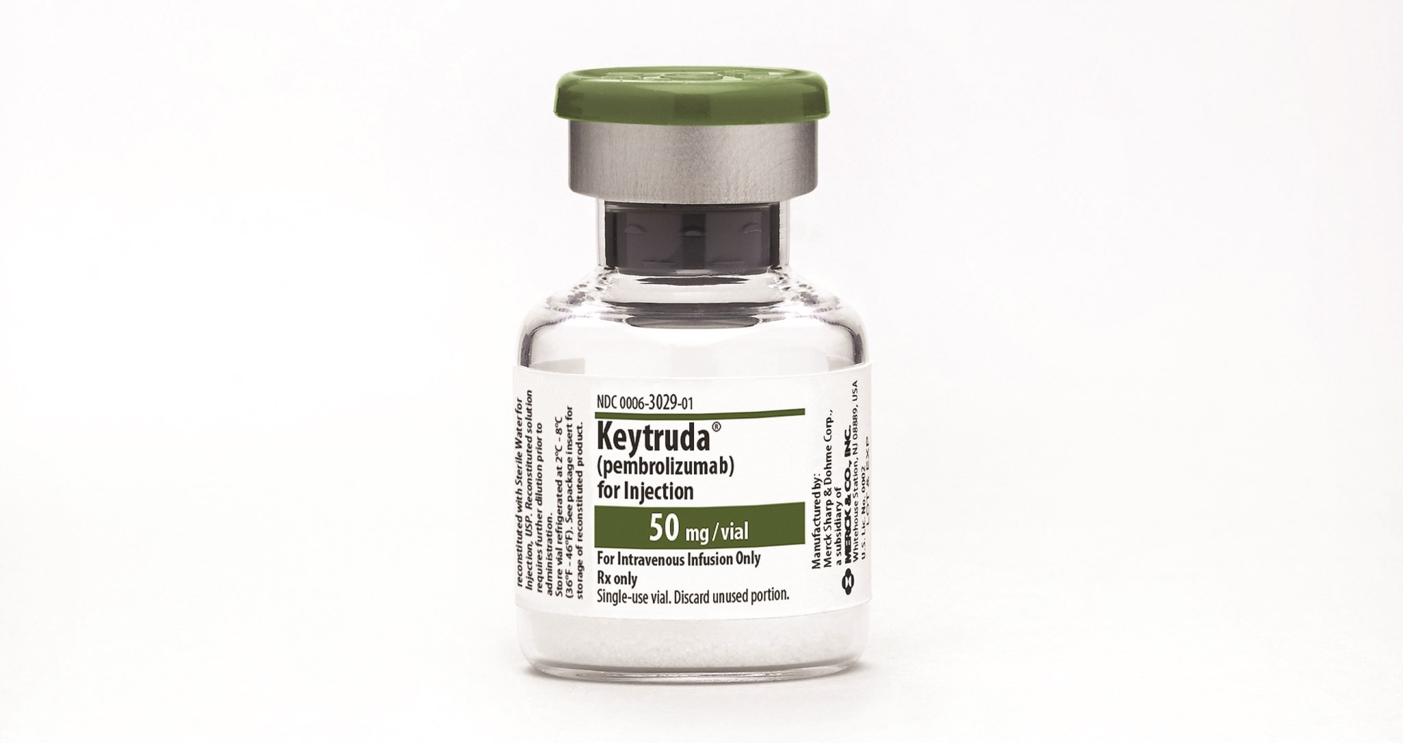 Merck's Keytruda wins approval in first-line lung cancer