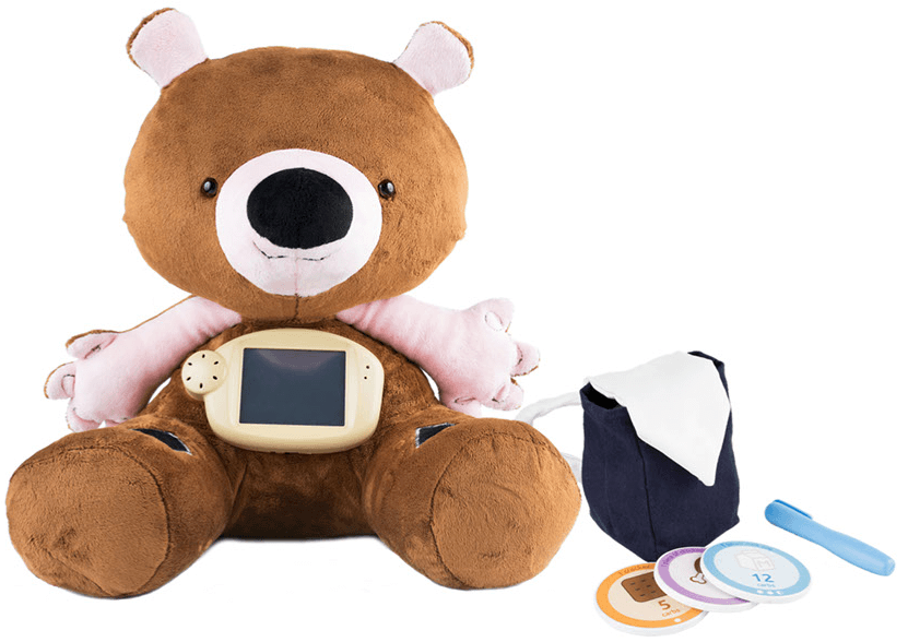 How a startup is educating kids with diabetes with a teddy bear