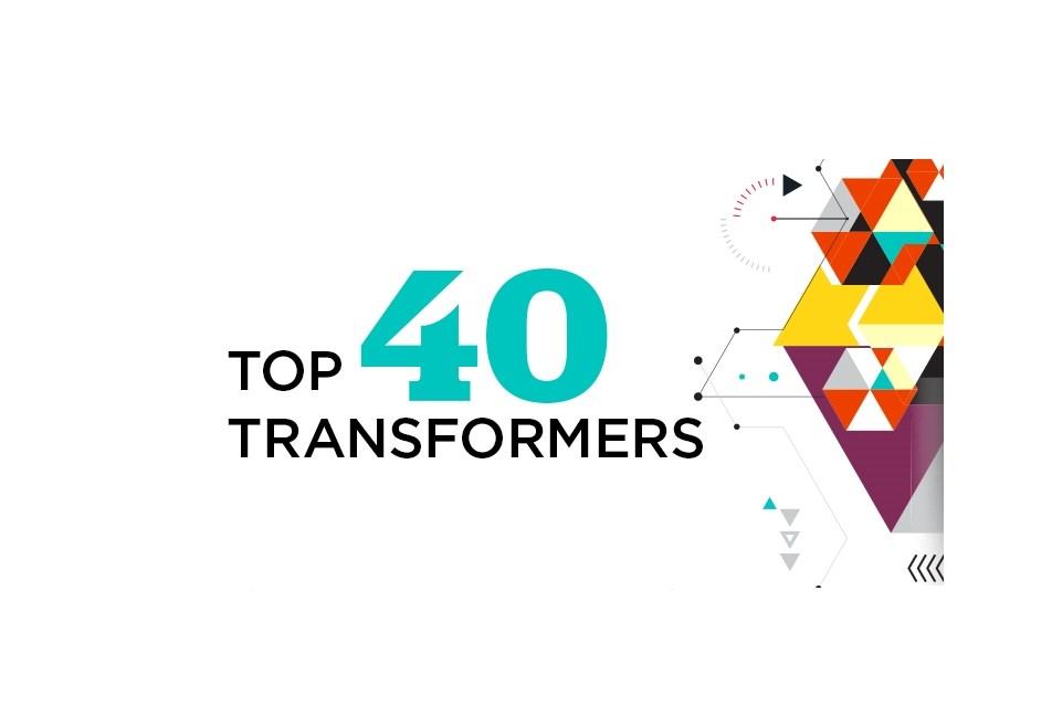 Top 40 Healthcare Transformers of 2017