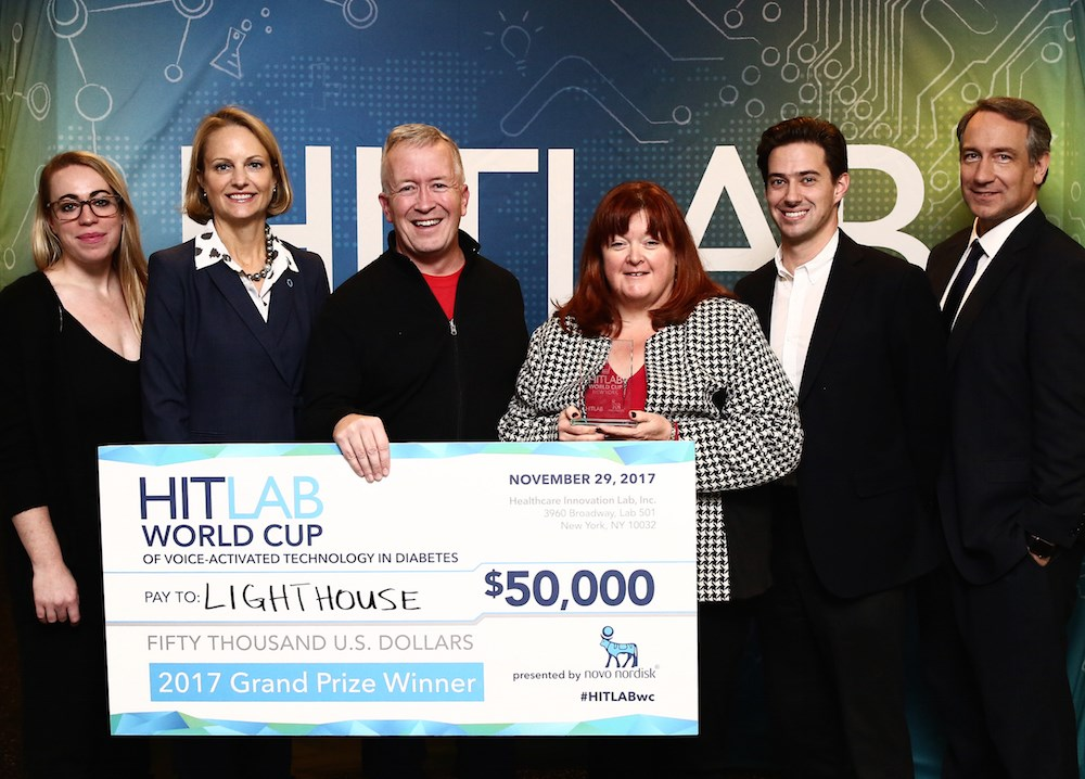 Lighthouse wins grand prize for voice-activated diabetes app at Hitlab