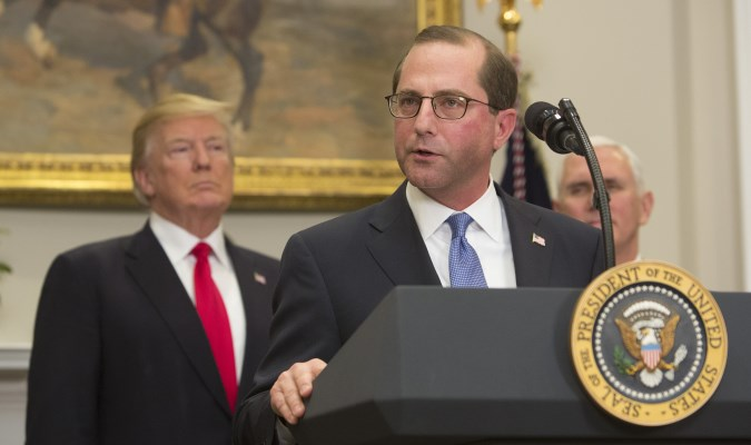 Azar's tough assignment: 'Rocketing down' drug prices