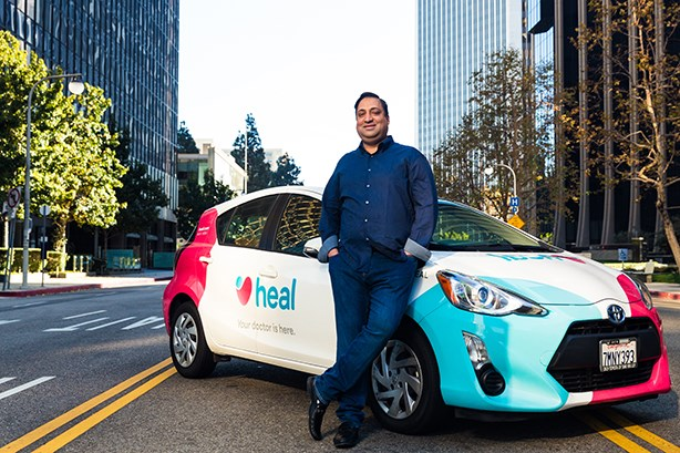 The doctor is always in as Heal CEO aims to revolutionize the healthcare sector