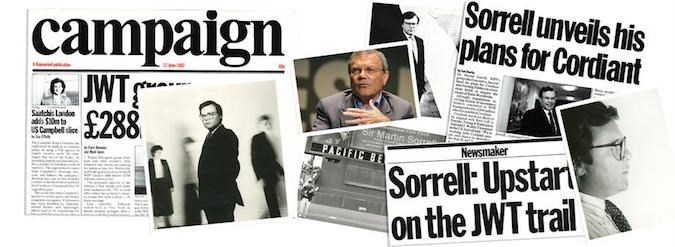 Making headlines: Key moments throughout Martin Sorrell's historic career