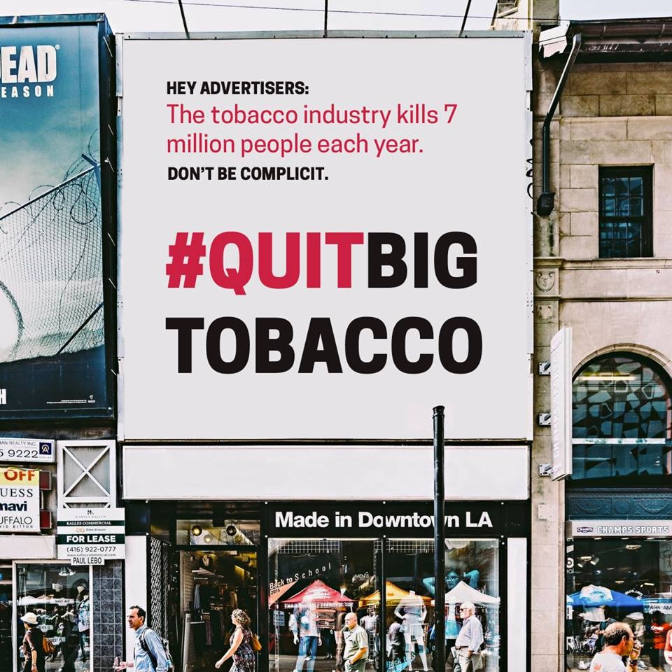 This nonprofit wants brands to pressure their agencies to drop tobacco clients