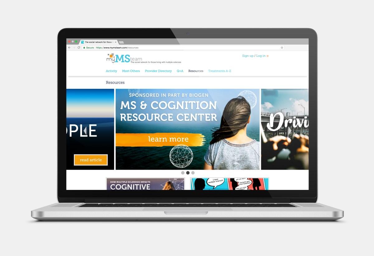 Biogen, MyMSTeam social network launch patient education resource